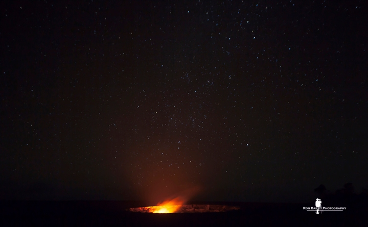 Night At The Volcano